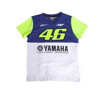 Rossi 2016 Yamaha T-Shirt Kids Blue/Yellow