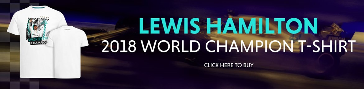 Lewis Hamilton 2018 World Champion T-Shirt
