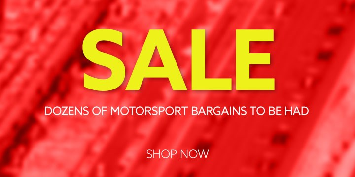 Dozens of Motorsport Bargains