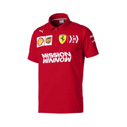 Scuderia Ferrari 2019 team polo shirt