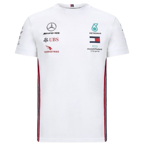 Mercedes-AMG Petronas Motorsport 2020 Team T-shirt in white