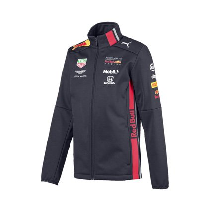 Aston Martin Red Bull Racing 2019 team softshell jacket