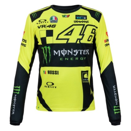 Valentino Rossi VR46 2019 Monster long sleeve T-shirt in