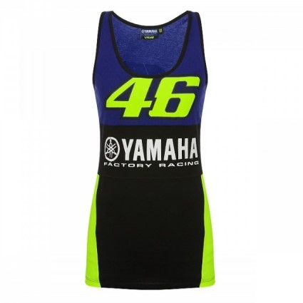 Valentino Rossi 2019 Ladies Yamaha tank top