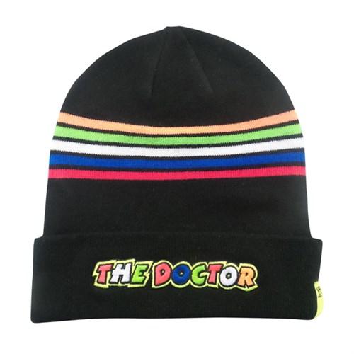 Rossi 2018 Beanie Hat in black Stripes (VAL1502) f531dfbe91c