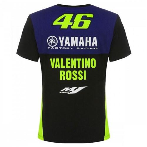 ffa97561 Valentino Rossi VR46 2019 Yamaha Team T-shirtAlternative Image1