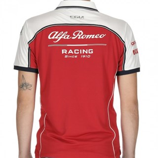 Alfa Romeo Racing 2019 Team polo shirtAlternative Image1