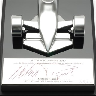 Signed Nelson Piquet 2017 Autosport Award Table Centre - 1:18Alternative Image2