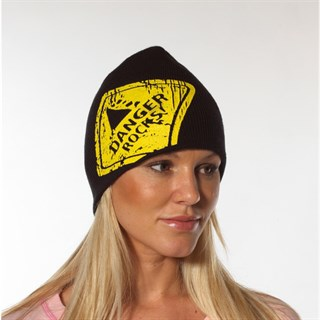 Danger Rocks Large Logo beanie Alternative Image2