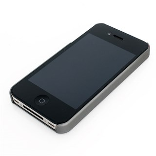 Ferrari iPhone 4 Scudetto cover grey/blackAlternative Image1