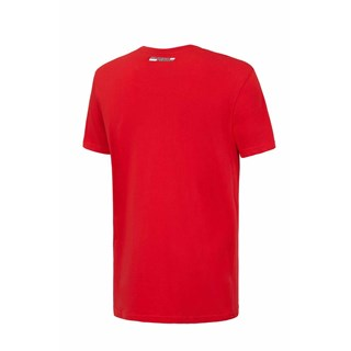 Ferrari Mens V-neck T-shirt - RedAlternative Image1