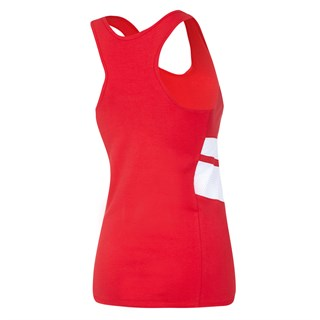 Ferrari Racer ladies vest in redAlternative Image2