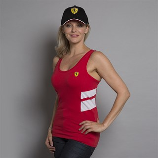Ferrari Racer ladies vest in redAlternative Image1