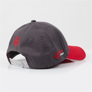 Haas 2017 Team Cap Grey/RedAlternative Image2