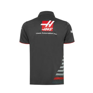 Haas F1 2018 Team Polo Shirt GreyAlternative Image1