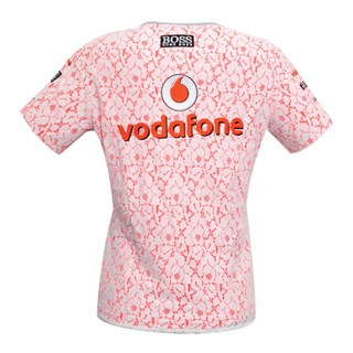Vodafone McLaren Mercedes ladies lace topAlternative Image1