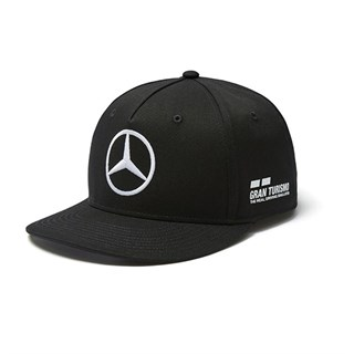 Mercedes AMG 2018 Hamilton Race Winning T shirt and Flat Brim Cap BundleAlternative Image3