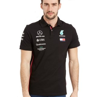 Mercedes-AMG Petronas Motorsport 2019 polo shirt in blackAlternative Image4