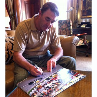First Win Williams print - Nigel Mansell signedAlternative Image1