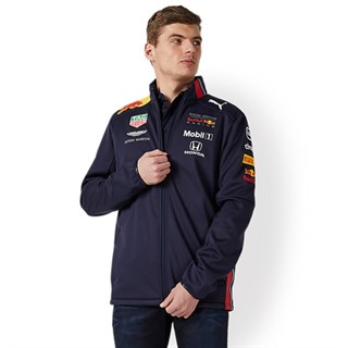 Aston Martin Red Bull Racing 2019 Team softshell jacket in navyAlternative Image2