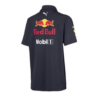 Aston Martin Red Bull Racing 2019 Team polo shirt in navyAlternative Image1