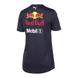 Aston Martin Red Bull Racing 2019 ladies Team T-shirt in navyAlternative Image1