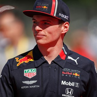 Aston Martin Red Bull Racing 2019 Max Verstappen cap in navyAlternative Image2