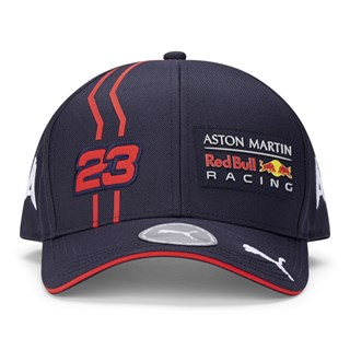Aston Martin Red Bull Racing 2020 Alex Albon cap in navyAlternative Image1
