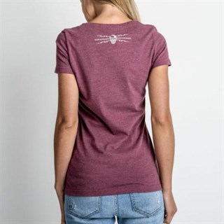 Red Torpedo Guy Martin Spanner Swarm ladies T-shirtAlternative Image1