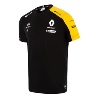Renault F1 Team 2019 T-shirt in black Alternative Image2