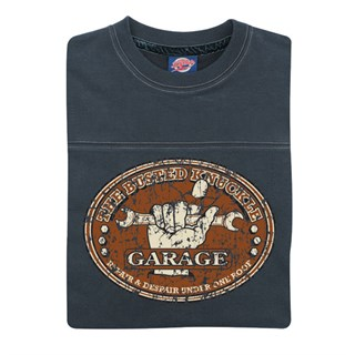 Retro Legends The Busted Knuckle Garage T-sweat in blueAlternative Image1