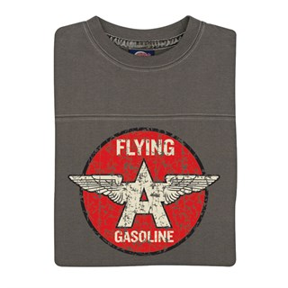 Retro Legends Flying A Gasoline T-sweat in greyAlternative Image1