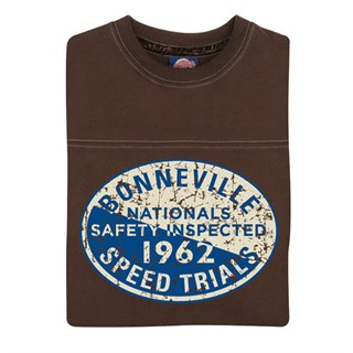Retro Legends Bonneville 1962 T-sweat in brownAlternative Image1