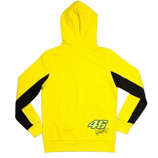 Rossi ladies zip hoodie in yellowAlternative Image1