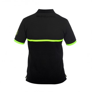 Rossi 46 Polo Shirt in blackAlternative Image1