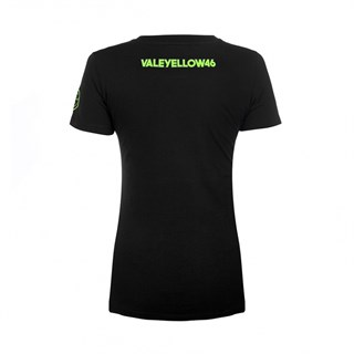 Rossi 46 ladies T-shirt in blackAlternative Image2