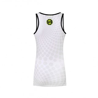 Rossi 46 ladies tank top in white Alternative Image2