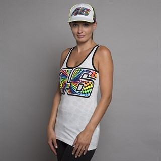 Rossi 46 ladies tank top in white Alternative Image1