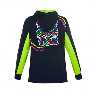 Rossi 46 ladies zip hoodie in blueAlternative Image1