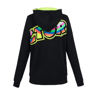 Rossi 2018 The Doctor ladies hoodie in blackAlternative Image1