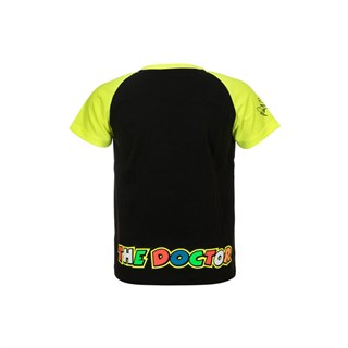 Rossi 2018 kids Race T-shirt in black / yellowAlternative Image1