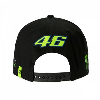 Valentino Rossi VR46 2019 Monster cap in blackAlternative Image2