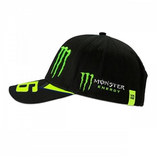 Valentino Rossi VR46 2019 Monster cap in blackAlternative Image3