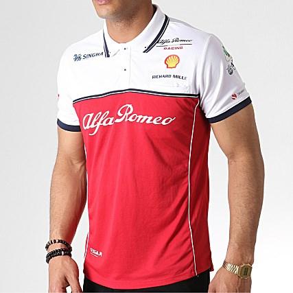 yksinoikeudella uk myymälä uskomattomia hintoja Alfa Romeo Racing 2019 Team polo shirt