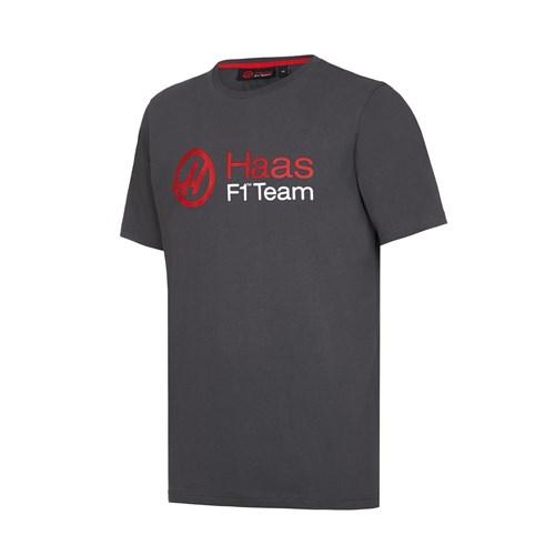 c5c2f93fd1a9a Haas F1 Fan T-Shirt - Grey (HAS006)