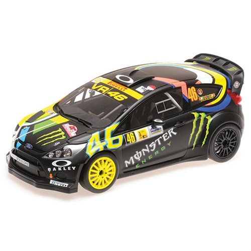 28a8254d2b1 Minichamps Ford Fiesta RS WRC - 1st 2012 Monza Rally -  46 V. Rossi 1 18  (PG120846)
