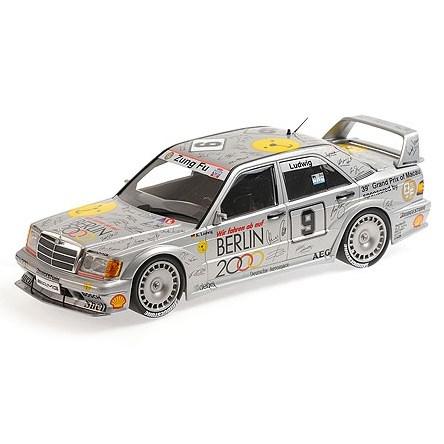 Minichamps Mercedes 190E Evo 2 - 1992 Macau Ghia Race - #9 K  Ludwig 1:18