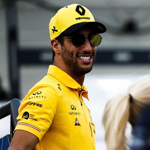 Renault F1 Team 2019 Daniel Ricciardo Cap
