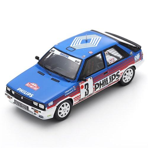 Spark Renault 11 Turbo 1986 Monte Carlo Rally 3 J Ragnotti 143