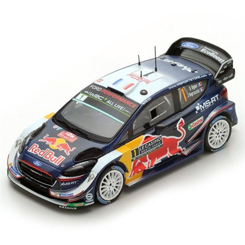 spark ford fiesta wrc 1st 2018 monte carlo rally 1 s ogier 1 43. Black Bedroom Furniture Sets. Home Design Ideas